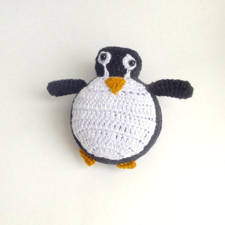 Virkat måttband, Pingvin