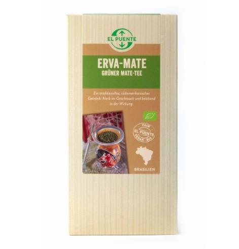 Erva mate, yerba, grön mate, ekologiskt löste