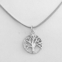 Hängsmycke 'Livets träd', silver