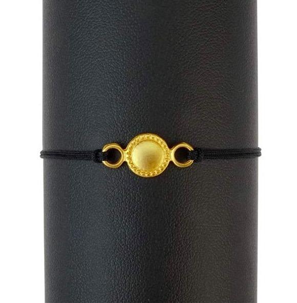 Armband 'Sun / Sol' gulddouble, Fairmined