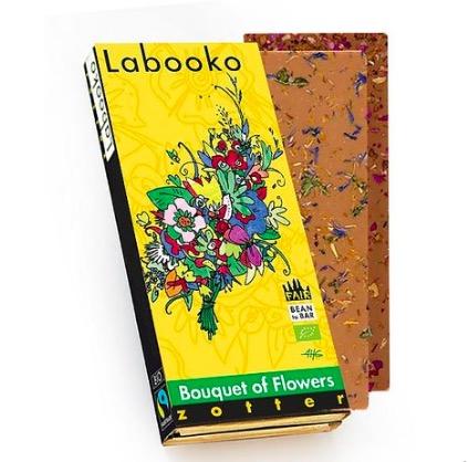 Zotter Labooko 'Bouquet of Flowers', mjölkchoklad, ekologisk