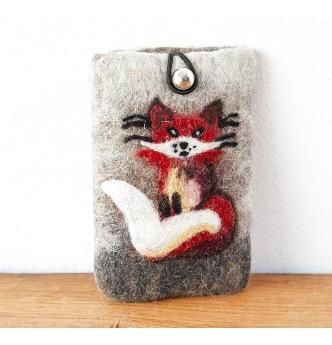 Mobilväska 'Fox', handtovad