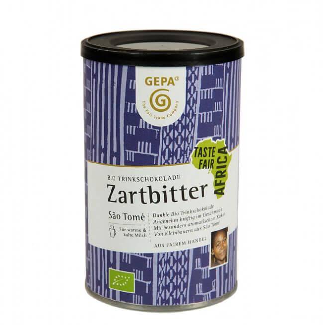 Drickchoklad 'Zartbitter' med extra mycket kakao