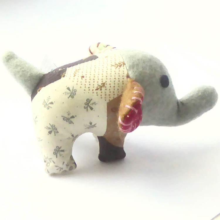 FUNimal Elefant mini, patchwork