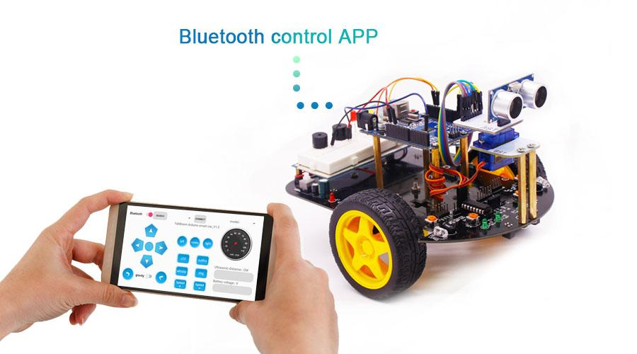 Keyestudio Two Wheel Self Balancing Smart Robot Car Kit For Arduino UNO R3 EU