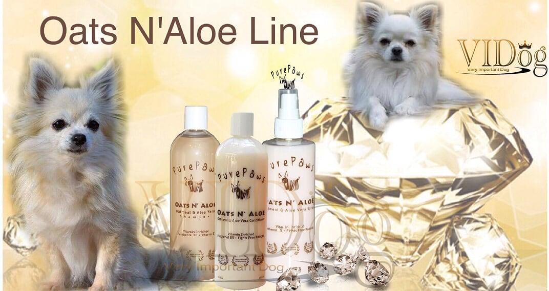 Pure Paws Oats N'Aloe Line
