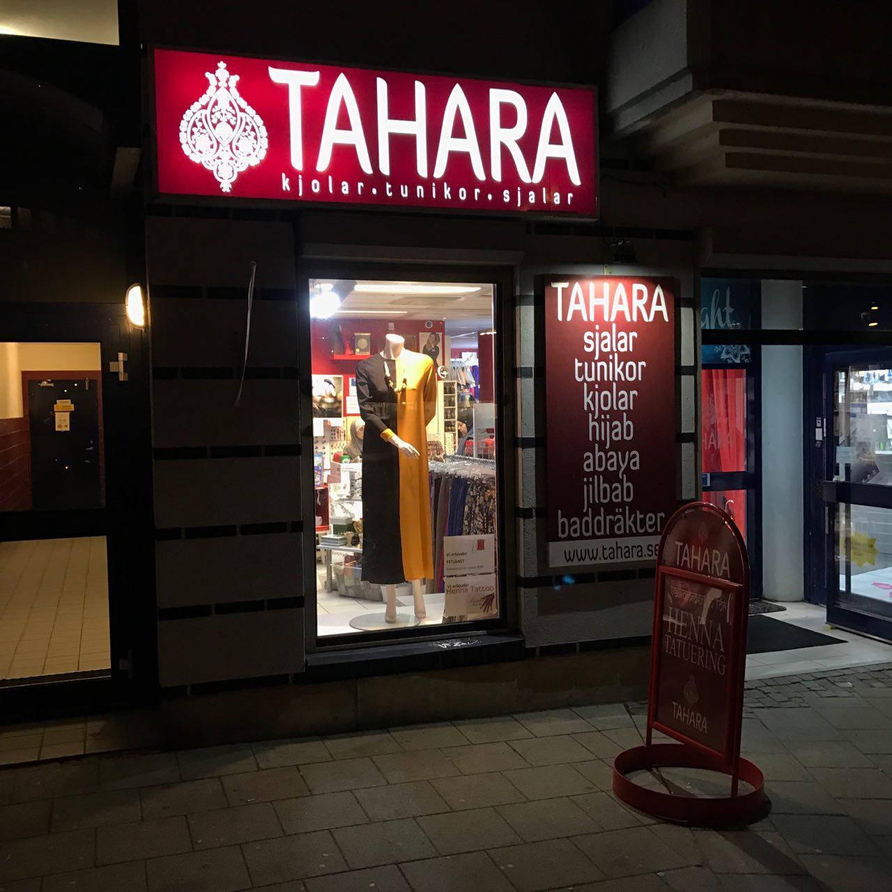TAHARA in Sweden at night.