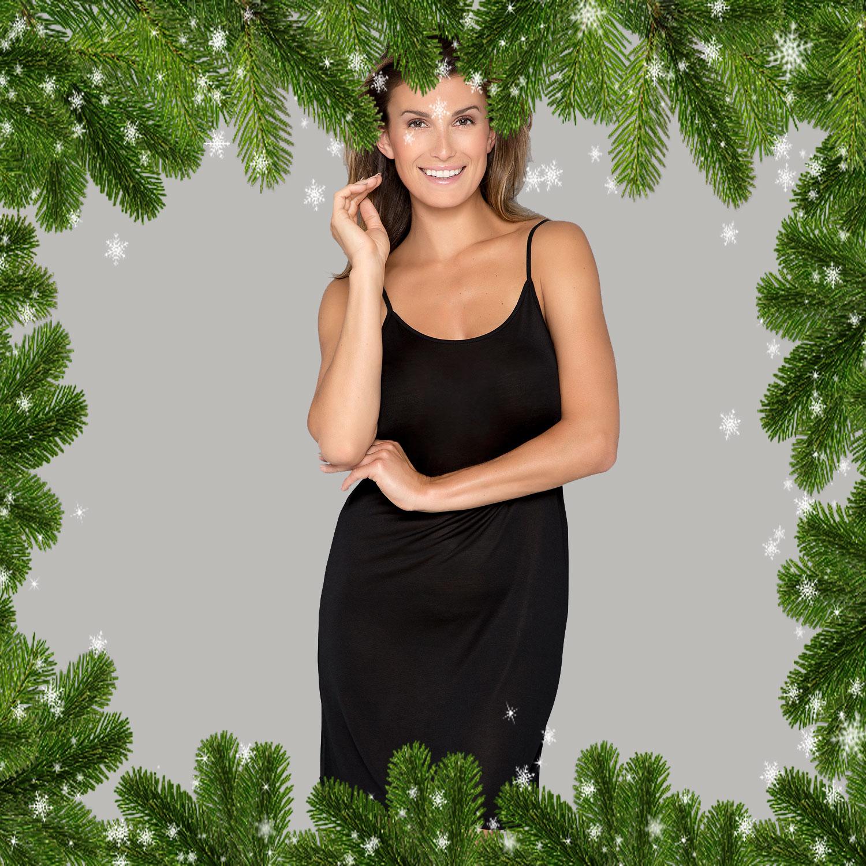 Silke underklänning   nattlinne - Näckrosen Underkläder 81b13c6c00300