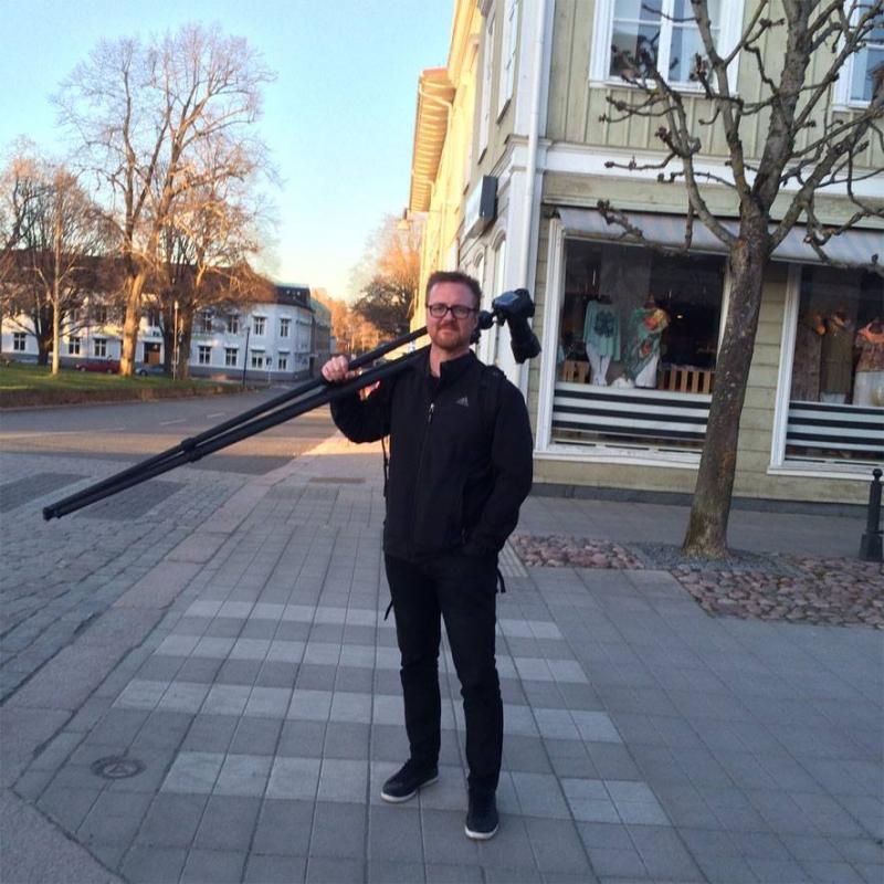 Fotografering till boken om Södra Storgatans affärer.