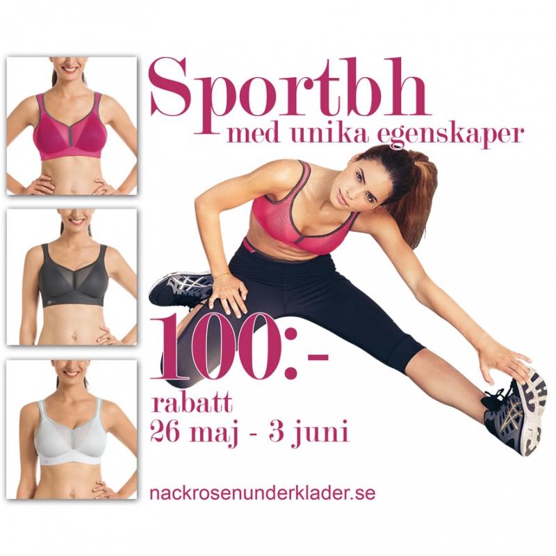Kampanj på sportbh Anita Active
