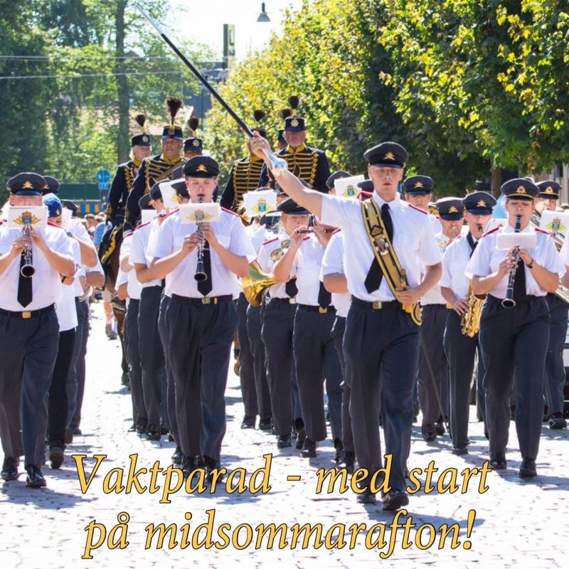 Vaktparad i Eksjö hela sommaren!
