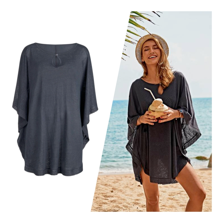 Lätta strandplagg att ta över badkläderna.