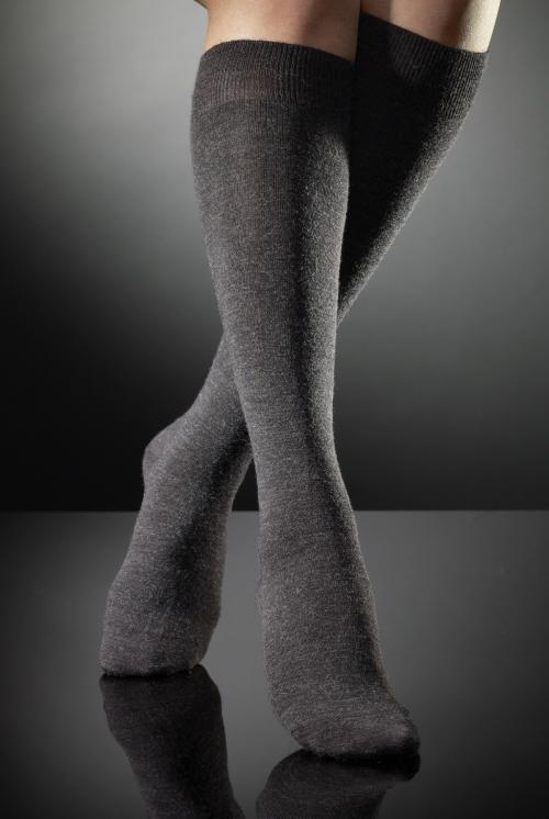 Vogue knästrumpa i ull 95001