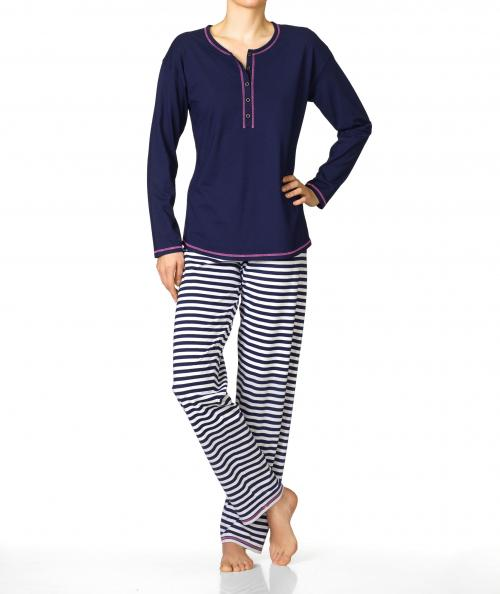 Calida  pyjamas Smoothy Stripes 47605 / 459