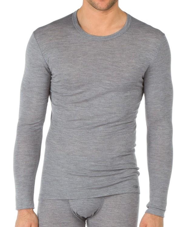 Calida långärmad tröja i ull och silke för herr 15060