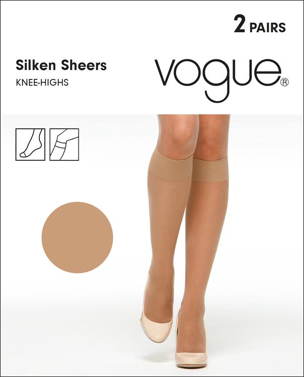 Vogue Silken Sheers knästrumpa 33794