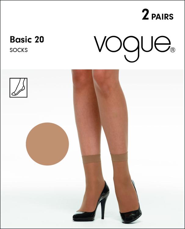 Vogue Basic Socka  20 den 32707