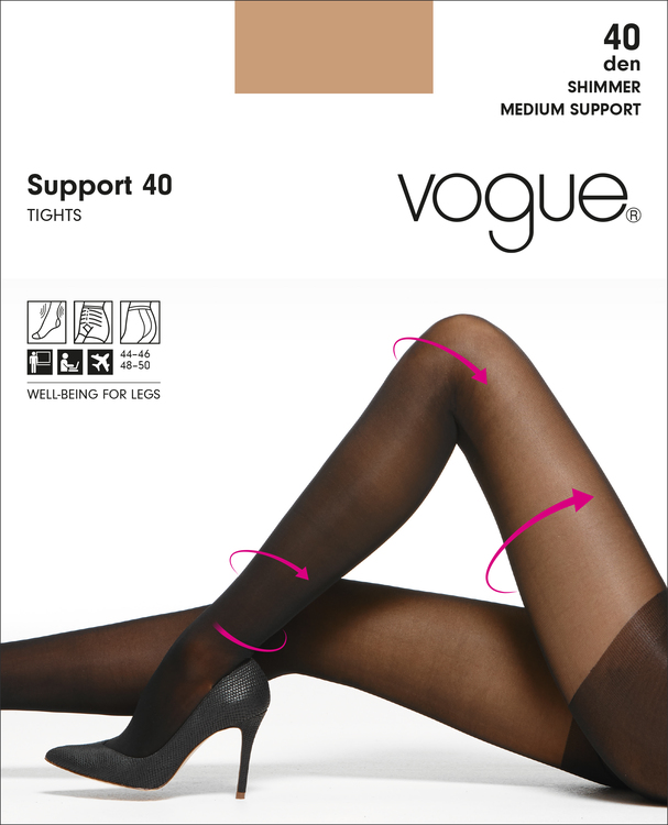 Vogue Support 40 den strumpbyxa 37640