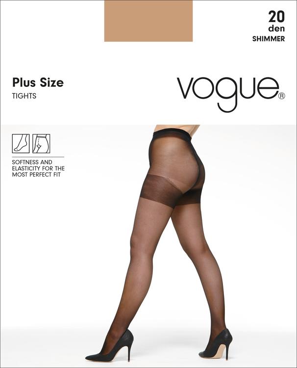 Vogue 20 den strumpbyxa  Plus size 95471