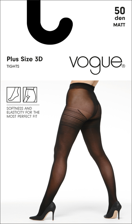 Vogue 50 den strumpbyxa  Plus Size 95472