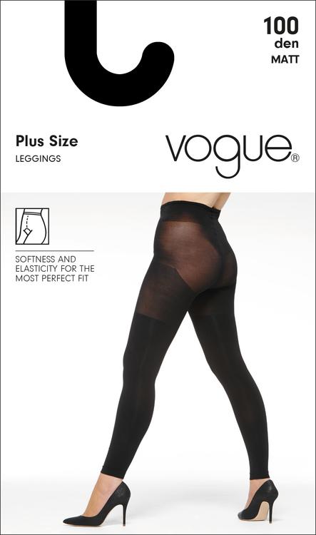 Vogue 100 den leggings Plus Size 95578