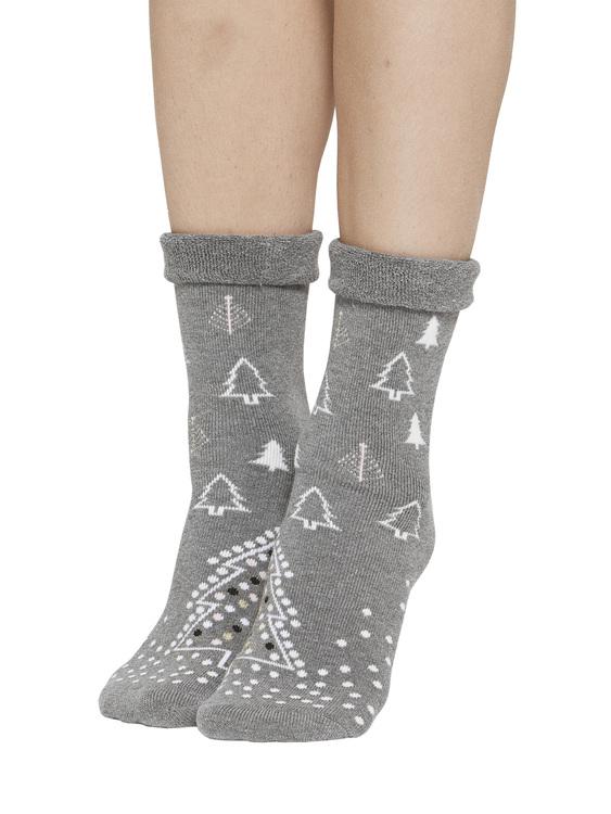 Vogue socka med halkmönster 96068