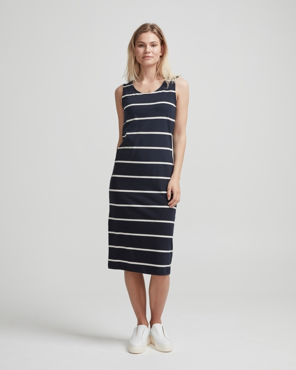 Holebrook Nathalie Tank Dress 912608 Navy / offwhite