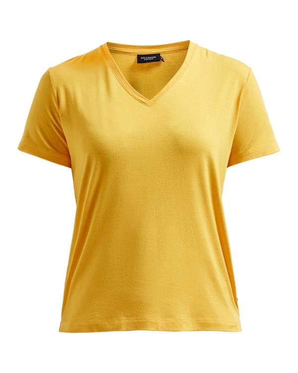 Holebrook Sanne V-neck Tee 862503  / marigold