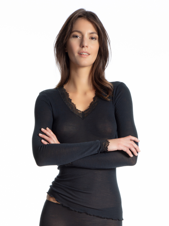 Calida långärmad topp Wool Deluxe 15026 / 809
