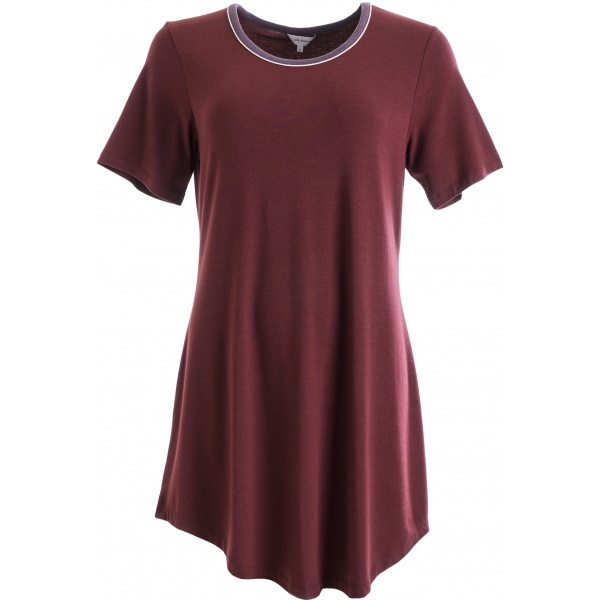 Lady Avenue Bigshirt 75-1014 /114 Wine