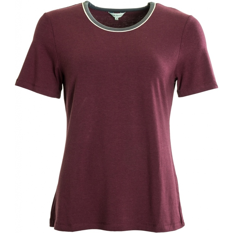 Lady Avenue t-shirt bambu 75-1012 / Wine 114