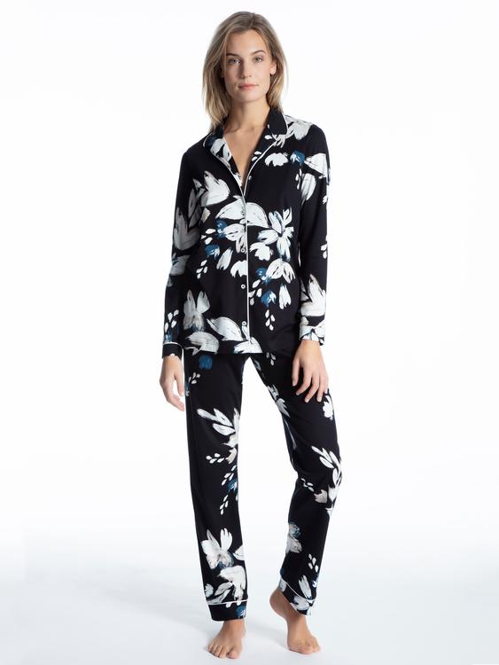 Calida pyjamas Cosy Choice 43523 / midnight blue 458
