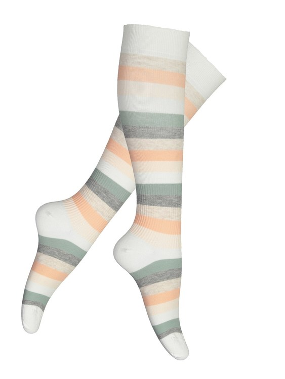 Vogue Support Flight socks Spring Stripe knä 96250