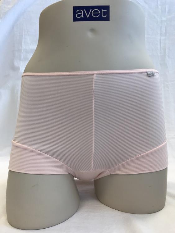 Avet boxer i microfiber 38388 / 2446 rosa Otoman stripe