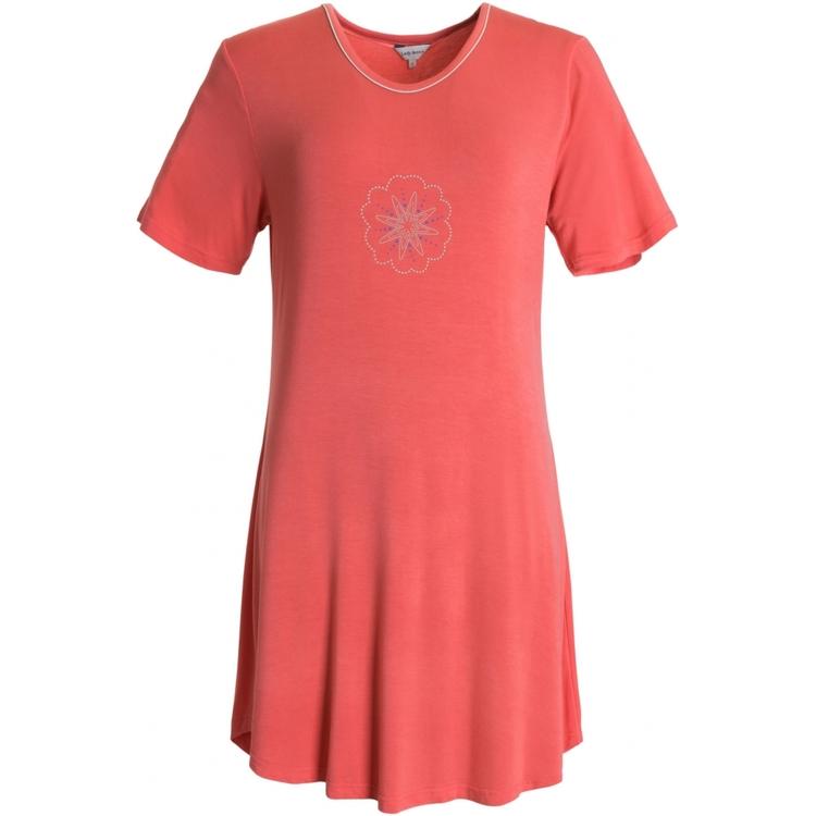 Lady Avenue Bigshirt 66-202 / Coral