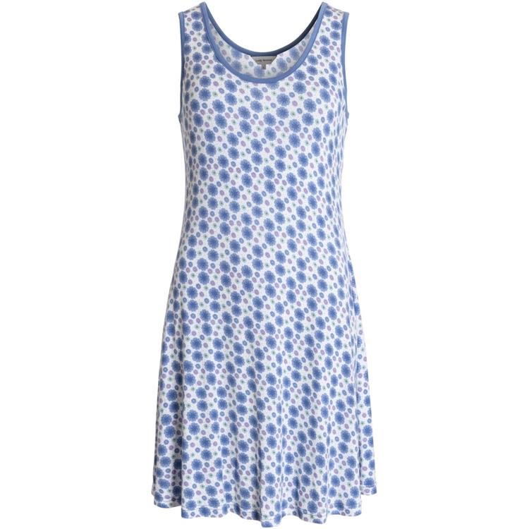 Lady Avenue ärmlöst 66-204 / Floral blue