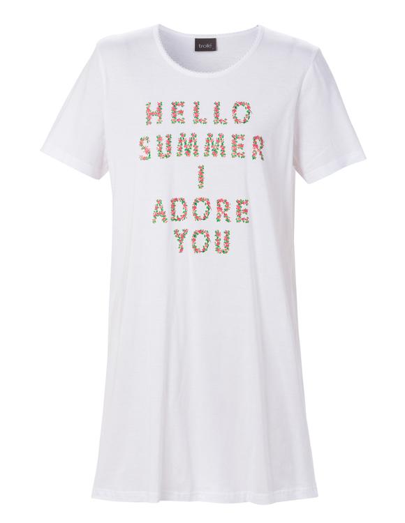 Trofé nattlinne Hello Summer 60121 vit