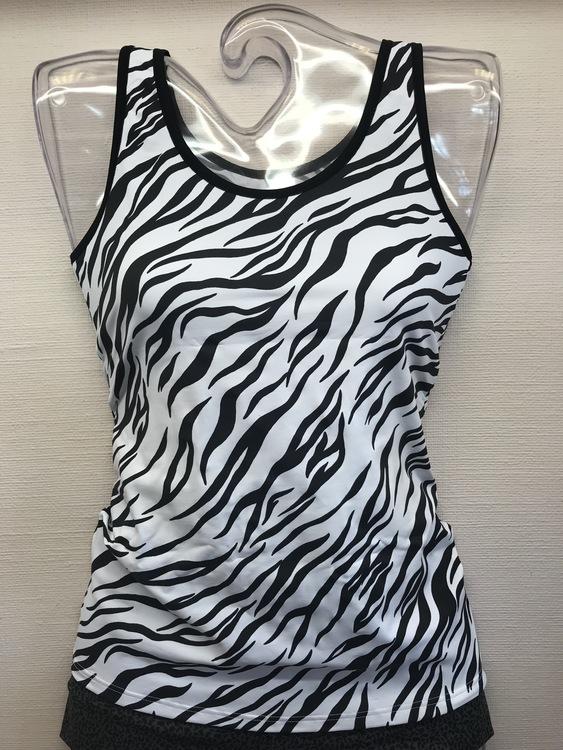 Avet linne i microfiber 75273 zebra