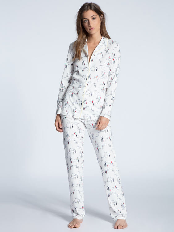 Calida pyjamas Cosy Emotion 48321 / 013