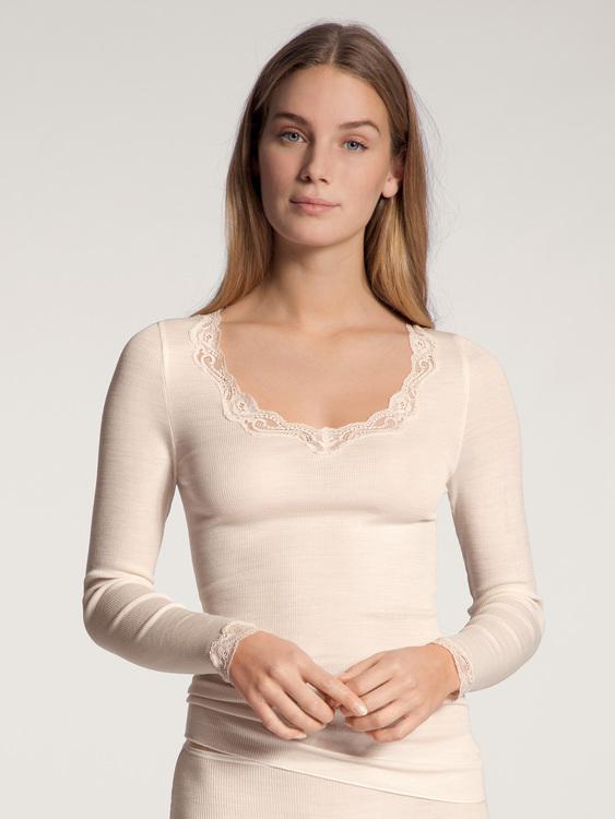 Calida topp ull silke Richesse Lace 15990 / 090