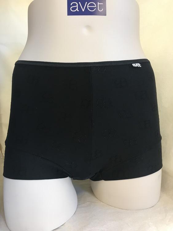 Avet boxer i microfiber avet logo 36273 / svart