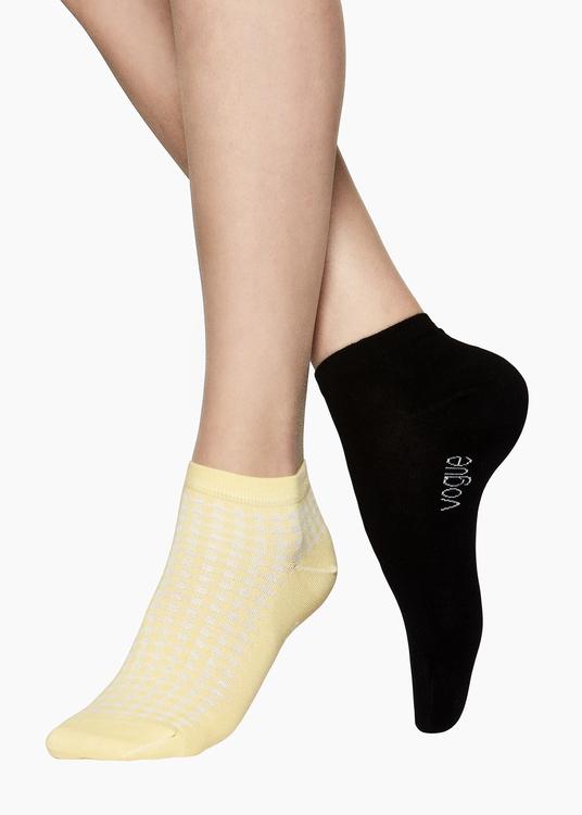Vogue bomull sneaker 2-pack 96308  4181 golden haze