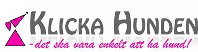 Klicka Hunden logo