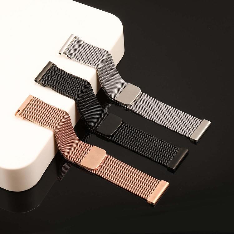 Milanesisk loop-armband till Galaxy Watch Active - Guld