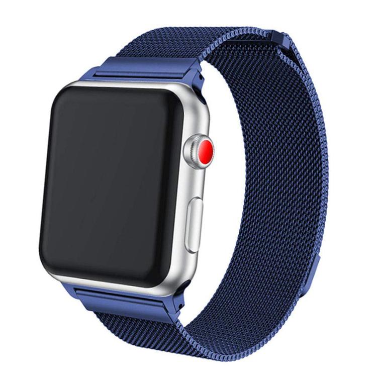 Apple Watch Armband Milanesisk 42/44mm Blå