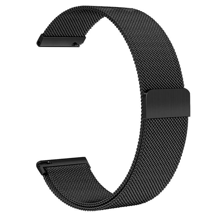 Milanesisk loop-armband till Galaxy Watch Active - Svart
