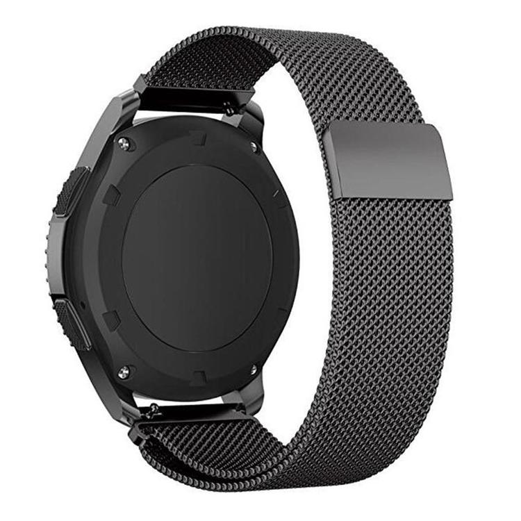 Samsung Galaxy Watch Armband Milanesisk 46mm SVART