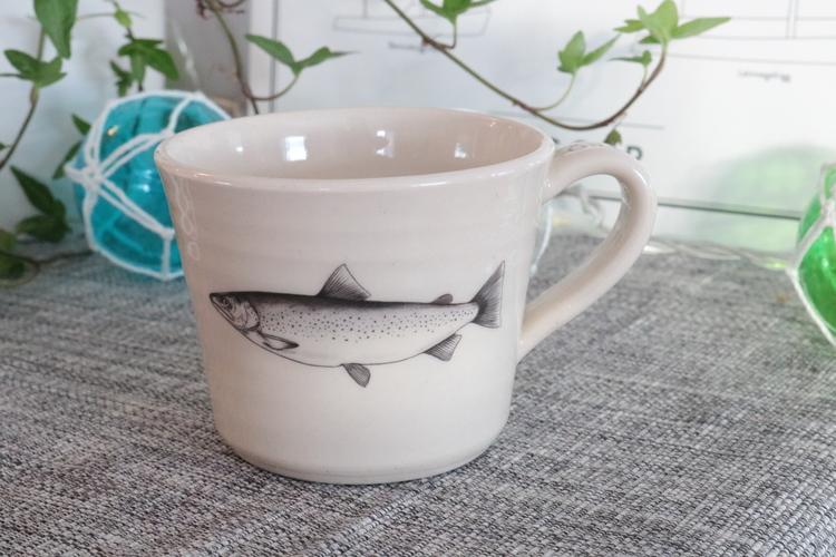Keramikmugg Öring - Pusspuss Company