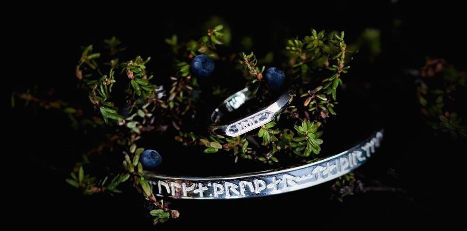 Soldiser Silver Rune Jewelry