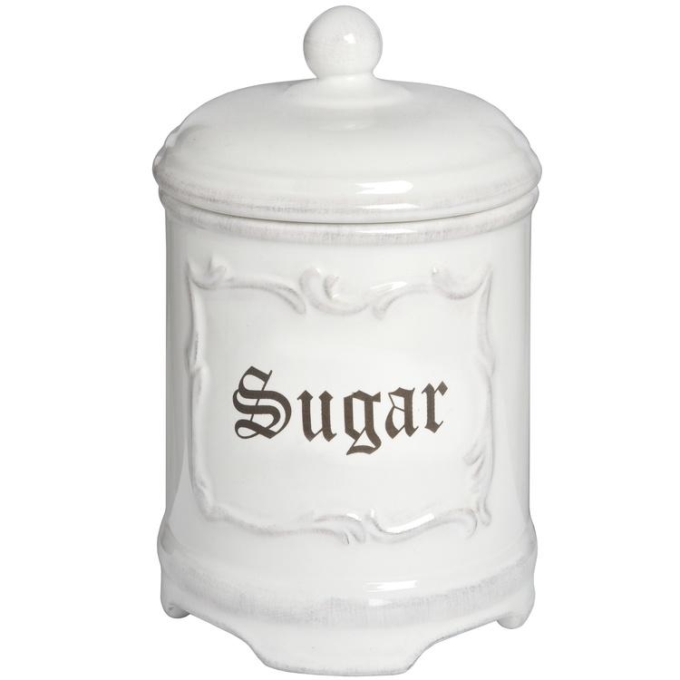 Sockerbehållare burk i porslin